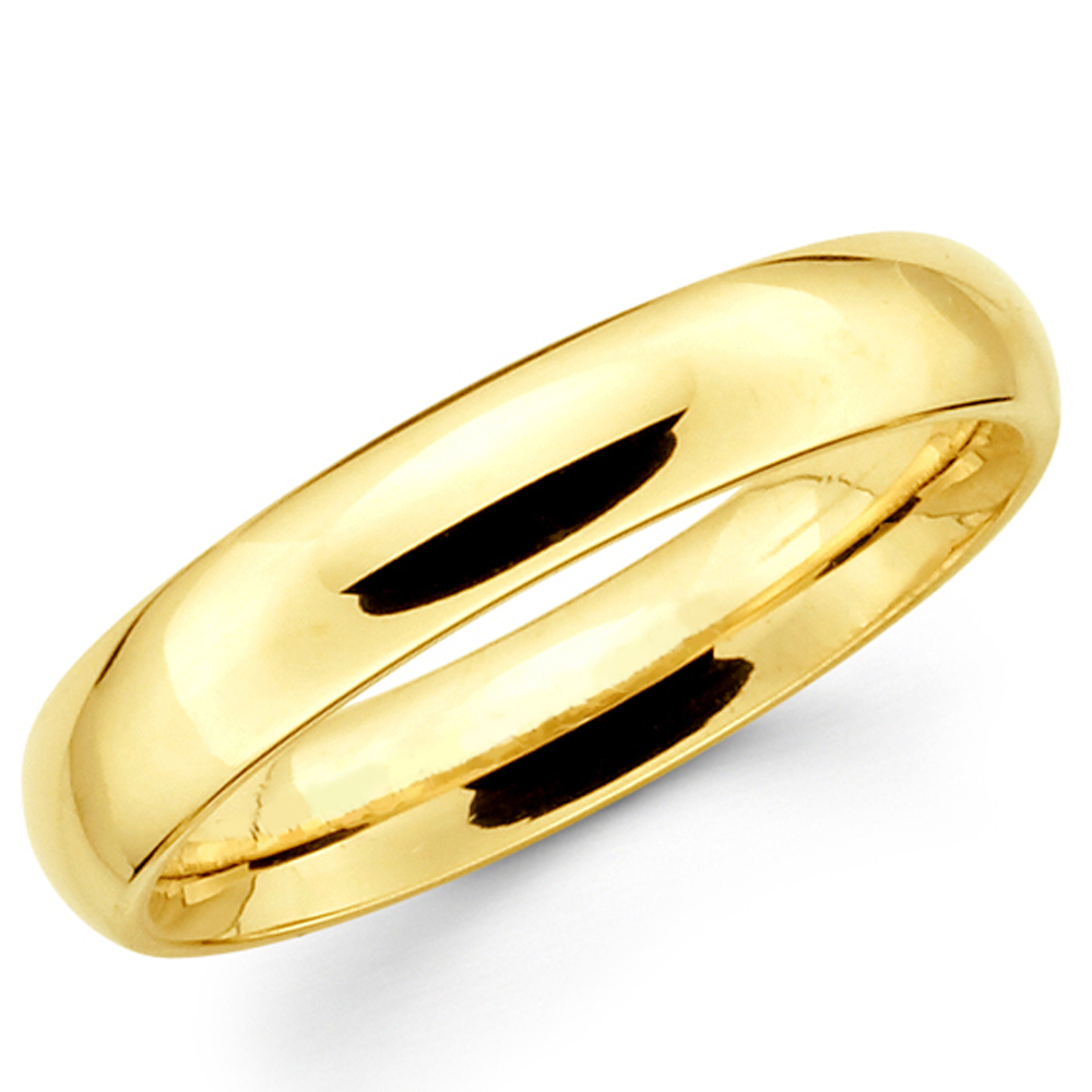 solid yellow itm men gold fit comfort mens band women ring wedding bands