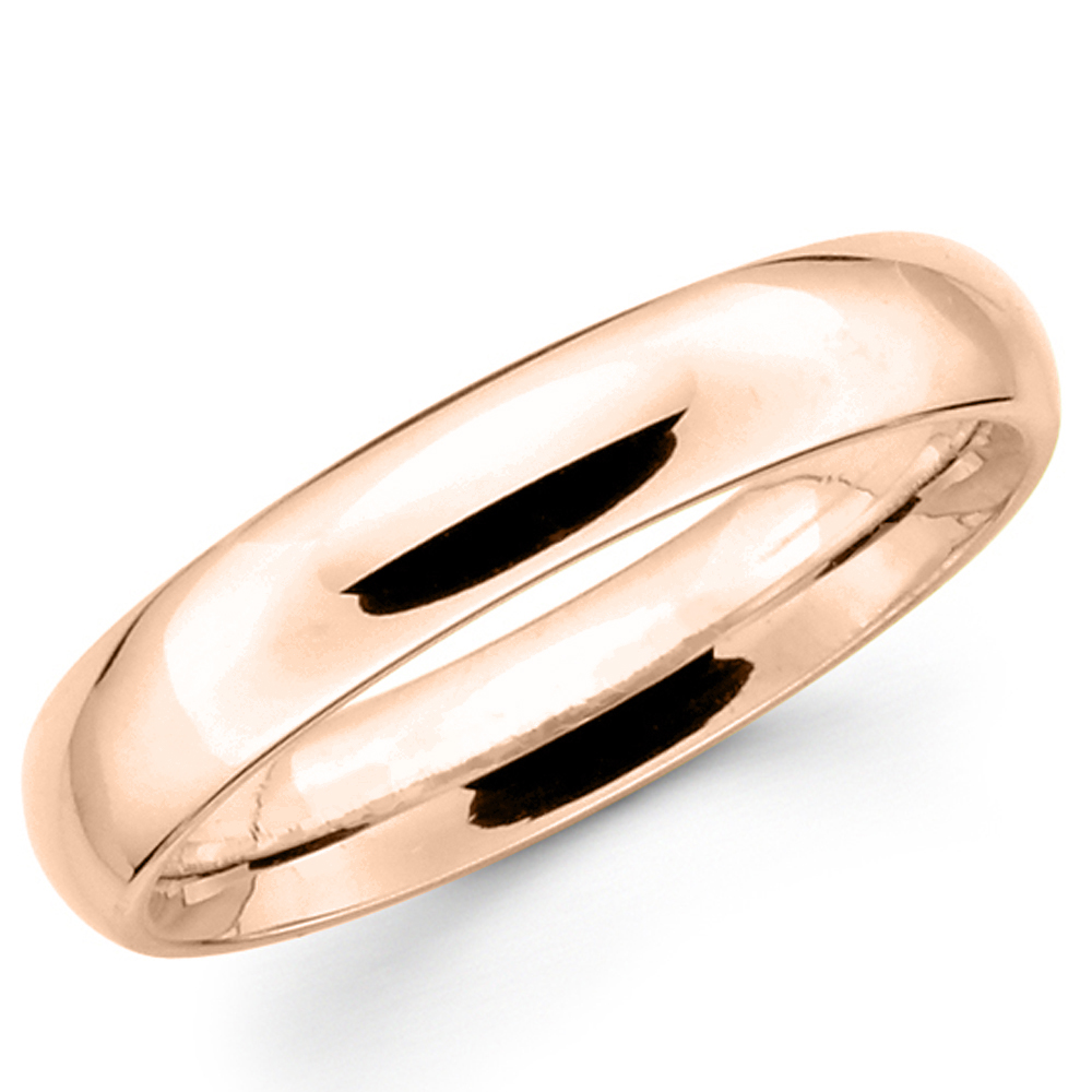 10k Solid Yellow Gold Wedding Band
