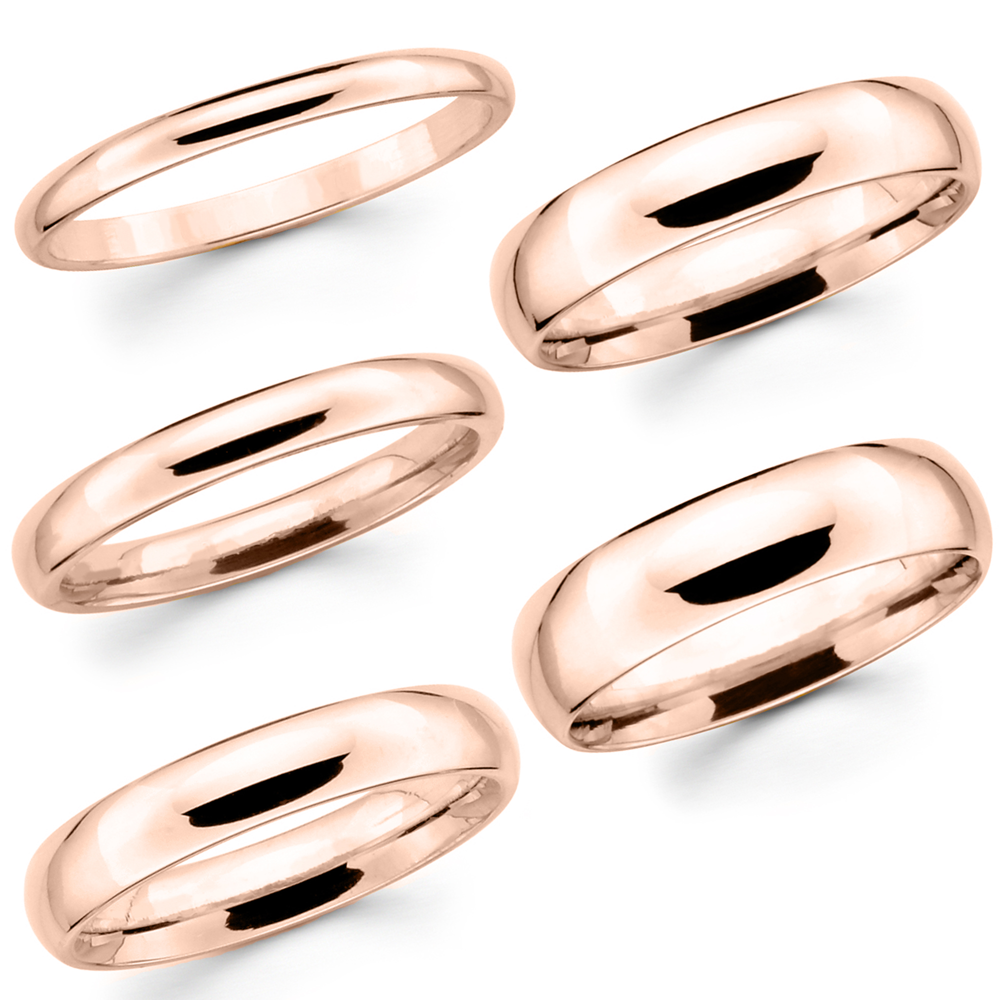 ring thin listing carat fullxfull rllb bands band wedding rose il gold halo